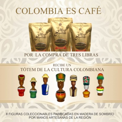 COLOMBIA ES CAFE TOTEMS