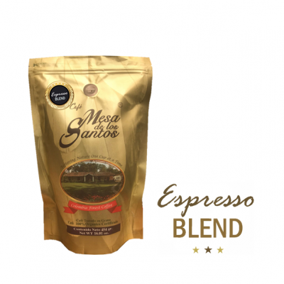 Espresso blend pagina